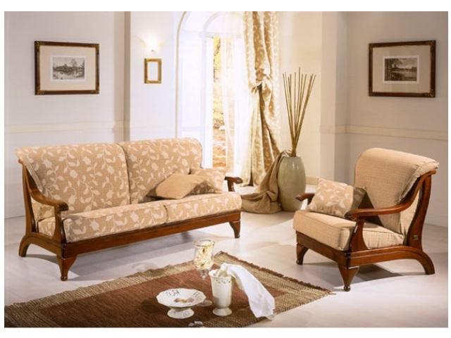 Divano mosca 2 posti letto divani linea legno divano e poltrona con struttura in legno di - Divano ikea con struttura in legno ...
