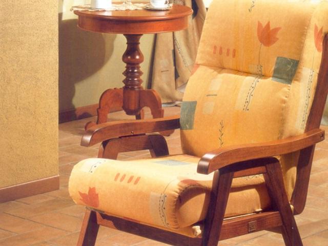 Poltrona creta poltrone relax poltrona con struttura in legno